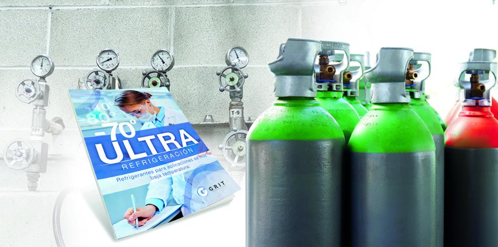 ULTRA REFRIGERACIÓN: Refrigerantes para aplicaciones de muy baja temperatura 4